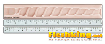 Twisted Fleshlight Canal Length