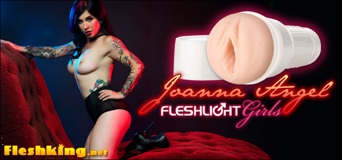 Johanna Angel becomes Fleshlight girl