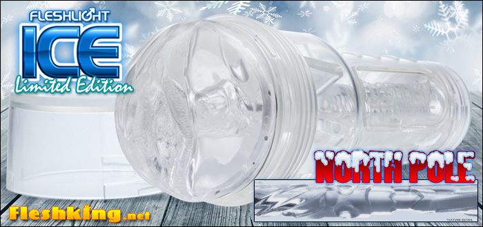 Fleshlight ICE limited edition North Pole texture
